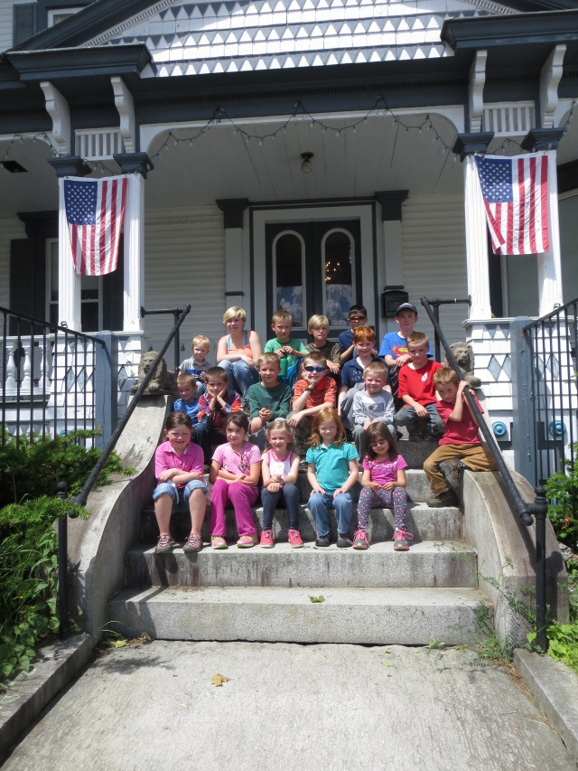 June 15, 2015 Homeschool group tours museum 003