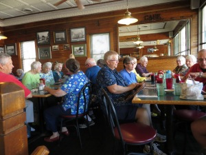 Sept. 5, 2015 Police Chief & Golden Oldies visit museum 023